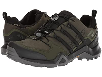 adidas Outdoor Terrex Swift R2 GTX (Night Cargo/Black/Base Green) Men