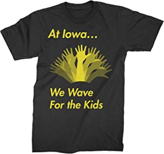 Iowa Wave Shirt Hawkeyes Waving Tshirt Iowans Kids Childrens Hospital Tee