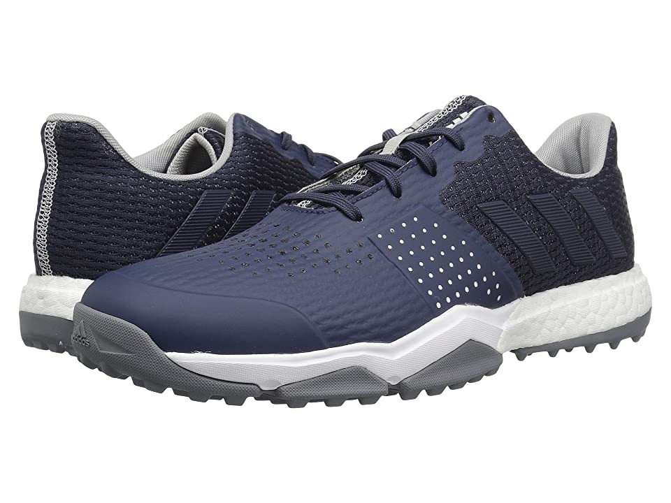 adidas Golf Adipower S Boost 3 (Trace Blue/Trace Blue/Silver Metallic) Men