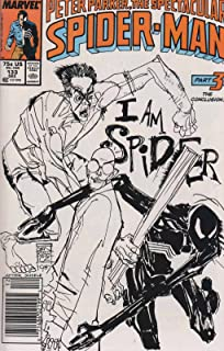 Spectacular Spider-Man, The #133 (Mark Jewelers) VF ; Marvel comic book
