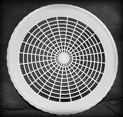 hasta un 50% de descuento 8 NEW blanco PLASTIC PAPER PLATE PLATE PLATE HOLDERS, PICNIC, BBQ by Picnic Ware  vendiendo bien en todo el mundo