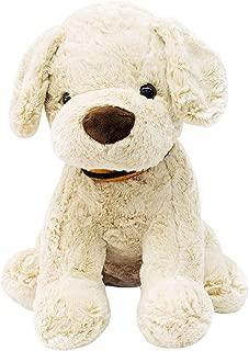 Cachorro Sentado Com Laço 40Cm - Pelúcia