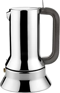 Alessi Espressomaschine 3.Tassen für Induktion Edelstahl