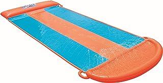 Bestway-H2OGO Aqua Ramp Triple - Tobogán de Agua, Multicolor (52249)