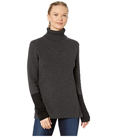 Royal Robbins All Season Merino Turtleneck (Charcoal) Women