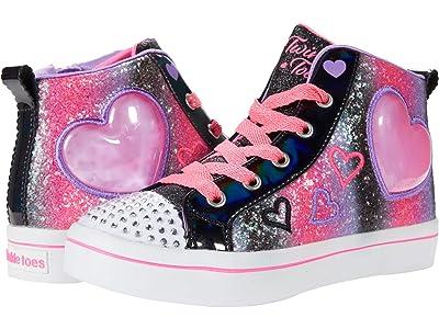 SKECHERS KIDS Twinkle Toes Twi-Lites 2.0 314419L (Little Kid) (Black/Multi) Girl