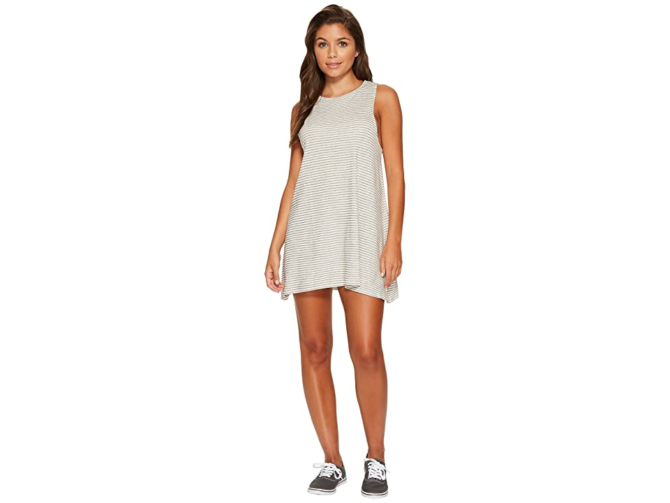 Billabong By and By Dress (Black/White) Women