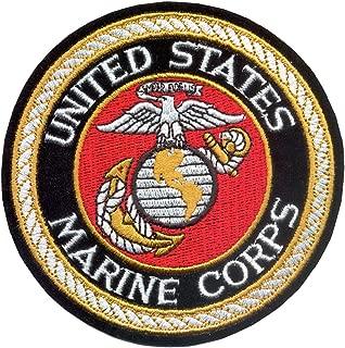 atDeluxe USMC Round Patch, 4''