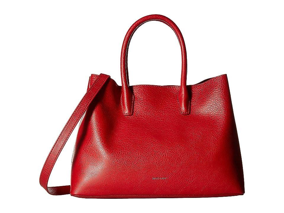 Matt & Nat Dwell Krista Small (Red) Handbags