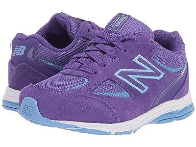 New Balance Kids IK888v2 (Infant/Toddler) (Prism Purple/Team Carolina Blue) Girls Shoes