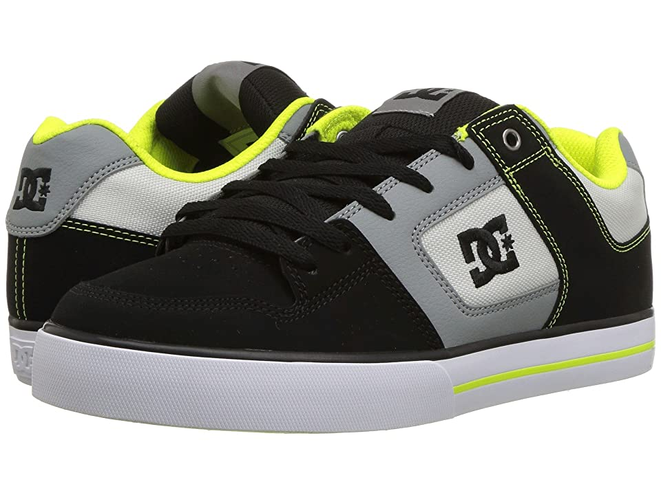DC Pure (Grey/Lime Green) Men