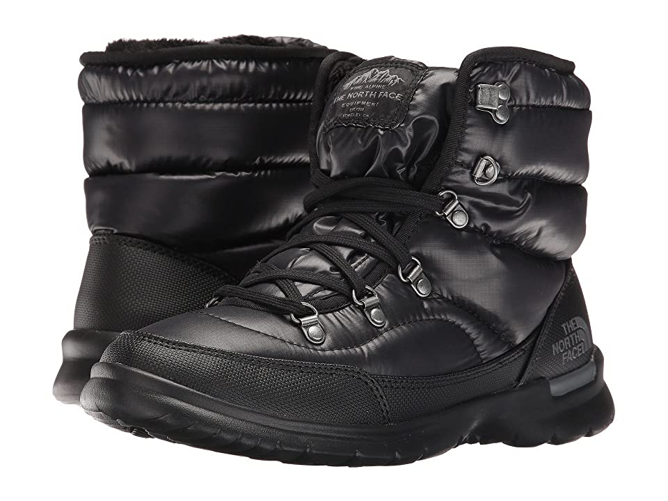 The North Face ThermoBall Lace II (Shiny TNF Black/Iron Gate Grey (Past Season)) Women