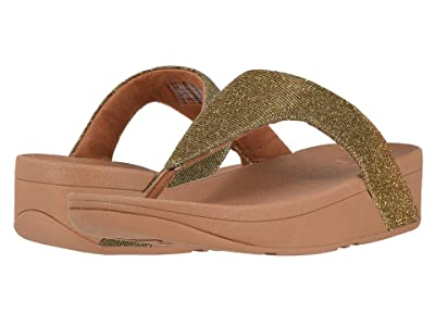 FitFlop Lottie Glitzy (Artisan Gold) Women