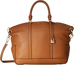Beckett Large Top Zip Satchel