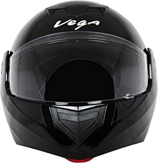 Vega Crux DX Flip-Up Helmet (Black, L)
