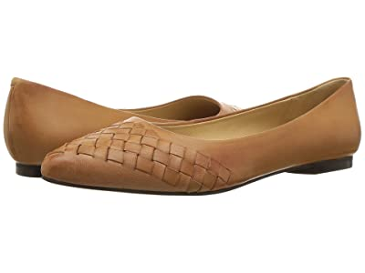 Trotters Estee Woven (Tan Woven Leather) Women