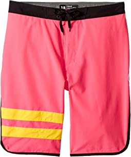 Hurley Kids Block Party Boardshorts (Big Kids)