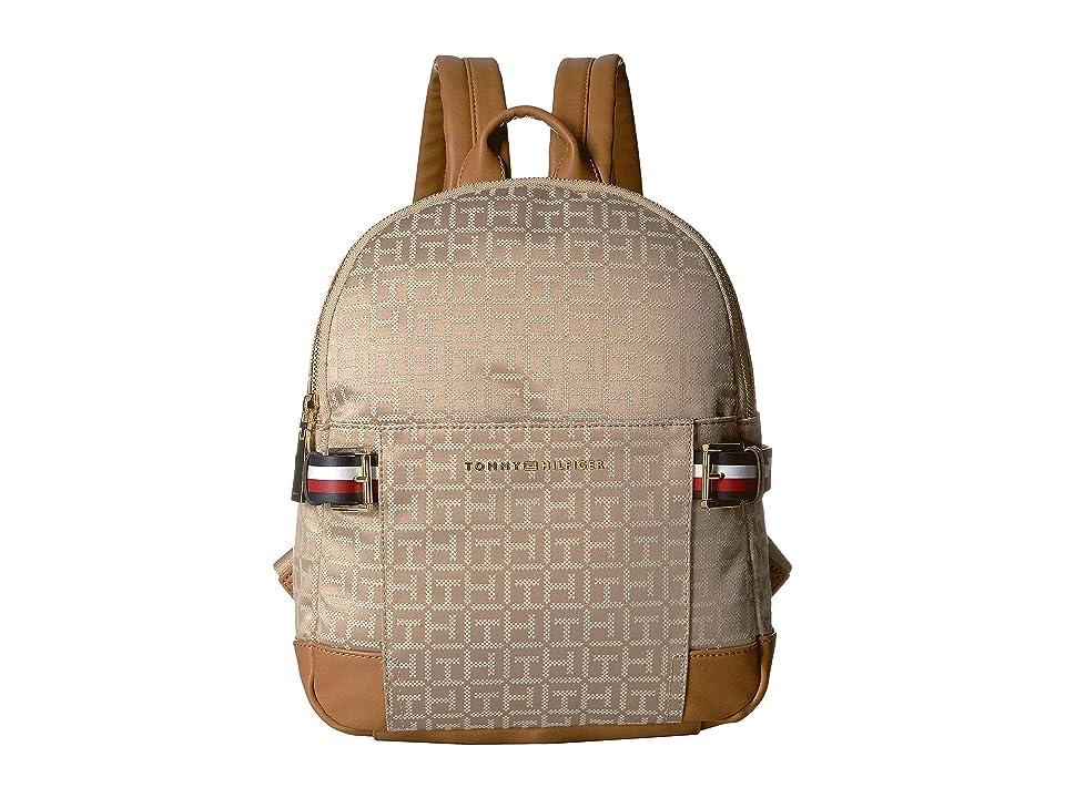 Tommy Hilfiger Meriden Backpack (Khaki/Tonal) Backpack Bags