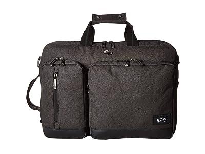 Solo New York Duane Hybrid Briefcase (Grey) Briefcase Bags