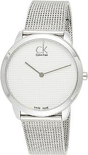 Calvin Klein Men's Quartz Watch, Analog Display and Stainless Steel Strap K3M2112Y