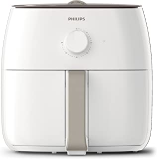 Philips Air Fryer Premium XXL for Fry/Bake/Grill/Roast with Fat Removal and Rapid Air Technology, 1.4kg Capacity, White, H...