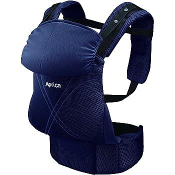 アップリカ(Aprica) だっこひも コラン ハグ AB リュクス ネイビー NV (つかれにくい腰ベルトタイプ + 新生児シート同梱 + 5Wayタイプ) 39457 新SG対応モデル