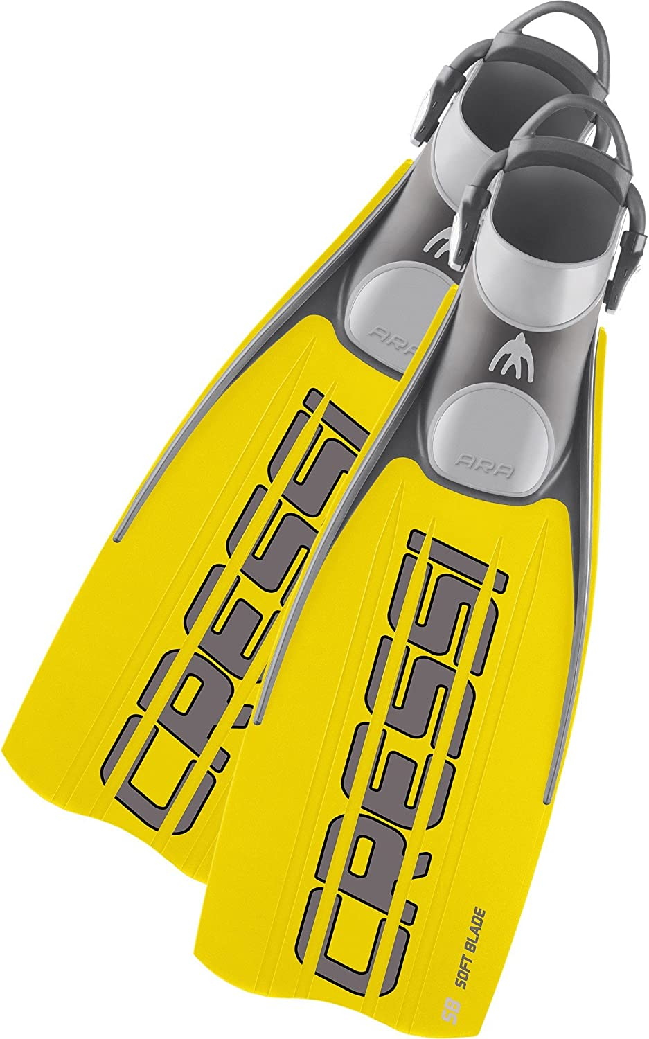 Cressi Powerful Manufacturer direct delivery Kick latest Open Heel Scuba Fins with Bungee Diving Str