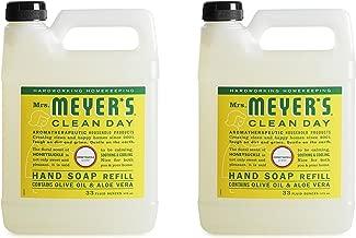 Mrs. Meyer's Clean Day Liquid Hand Soap Refill, Honeysuckle, 33 Ounce - 2 PK