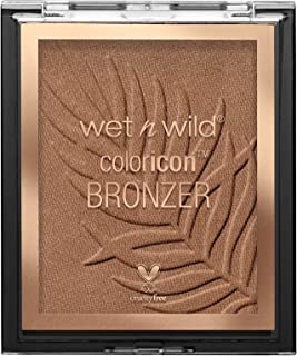 wet n wild Color Icon Bronzer - What Shady Beaches, Brown, 11 g