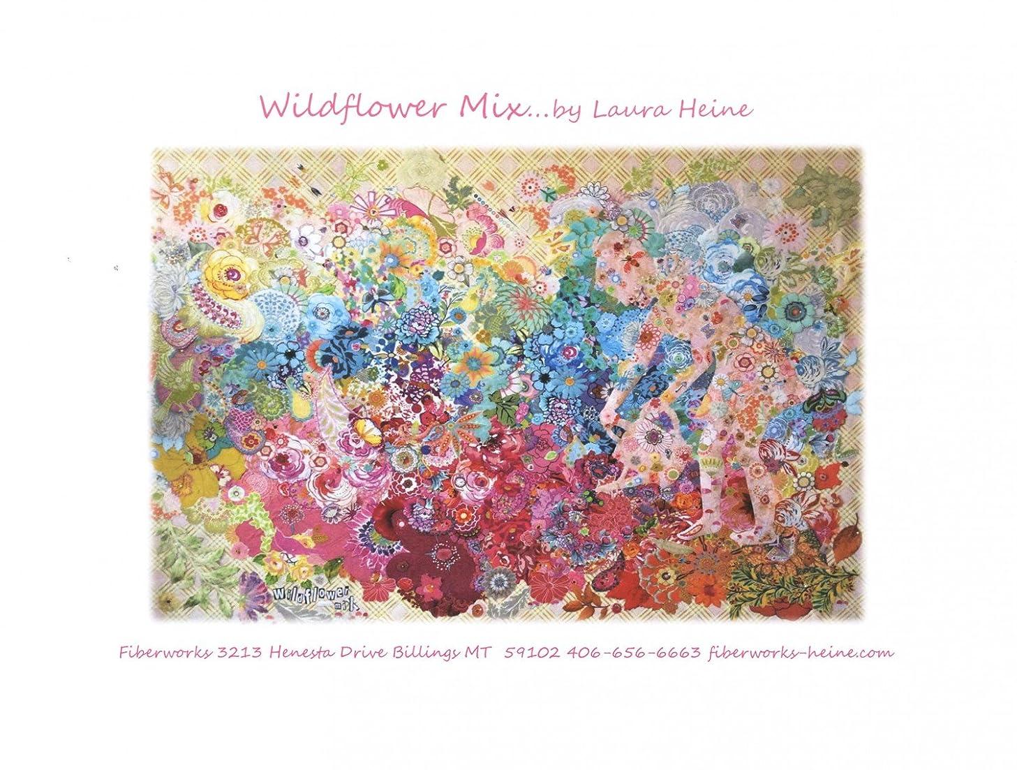 Wildflower Mix Quilt Pattern by Laura Heine