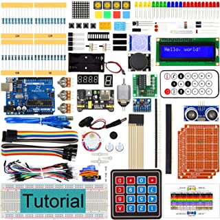Freenove Ultimate Starter Kit with Board V4 (Compatible with Arduino IDE) (Blue Board), 273 Pages Detailed Tutorial, 217 I...