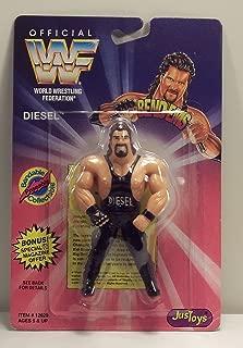 WWF / WWE Wrestling Superstars Bend-Ems Figure Series 1 Diesel