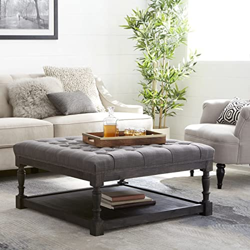 Tufted Ottoman Coffee Table Amazon Com