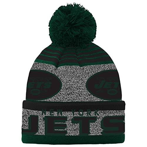 4f740b293876 NFL Teen-Boys NFL Youth Boys Cuff Pom Hat