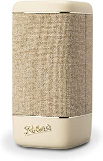 Roberts Beacon 330 Bluetooth Speaker with EQ & Stereo Pairing - Pastel Cream