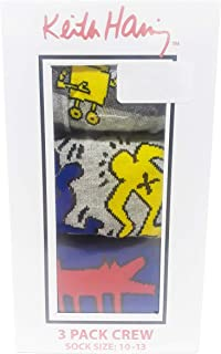 Keith Haring Socks 3 Pack Crew Sock