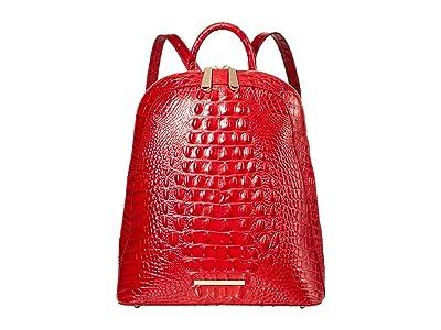 Brahmin Melbourne Large Rosemary Backpack (Ember) Backpack Bags