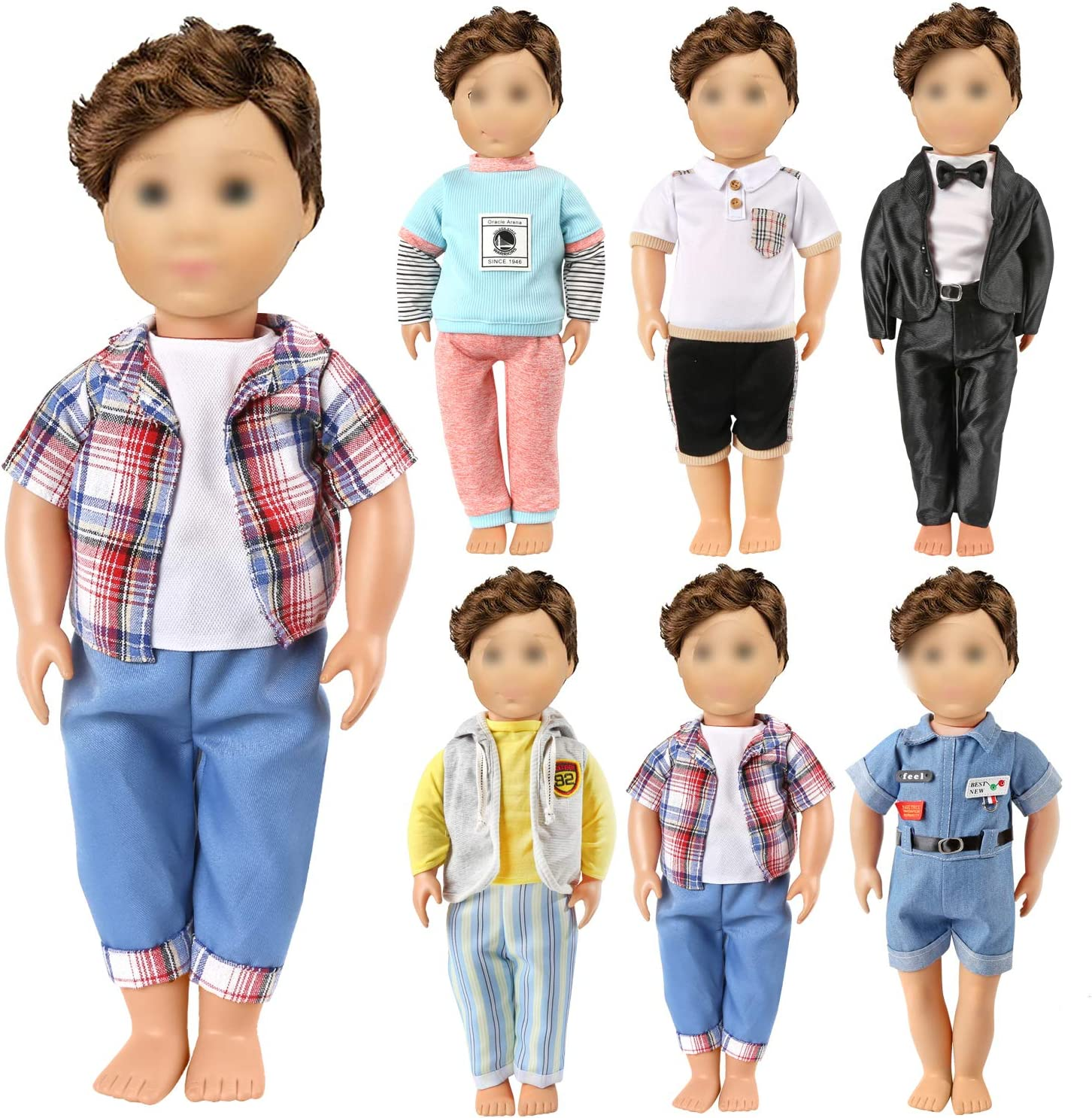 KYToy American 18 Inch Boy Ranking TOP2 Doll Includ Clothes and Reservation - Accessories