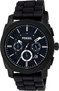 Fossil Machine Chronograph Black Dial Men's Watch - FS4487