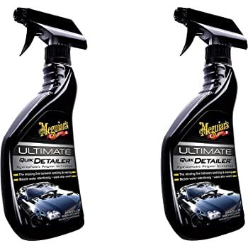 Meguiar's G14422 Ultimate Quik Detailer - 22 oz. – Premium Spray Detailer - 2 Pack