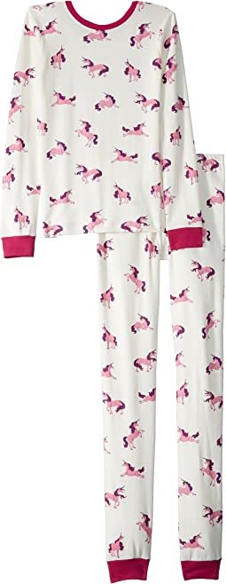 Majestic Unicorns Organic Cotton Pajama Set (Toddler/Little Kids/Big Kids)