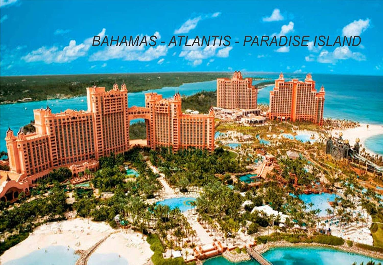 Amazon Com Bahamas Bahamian Fridge Refrigerator Magnets 1 Piece Style Atlantis Paradise Island Bah10 Kitchen Dining