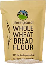 Hard Red Spring Wheat Flour • Non-GMO Project Verified • 3 LBS • 100% Non-Irradiated • Certified Kosher Parve • USA Grown ...