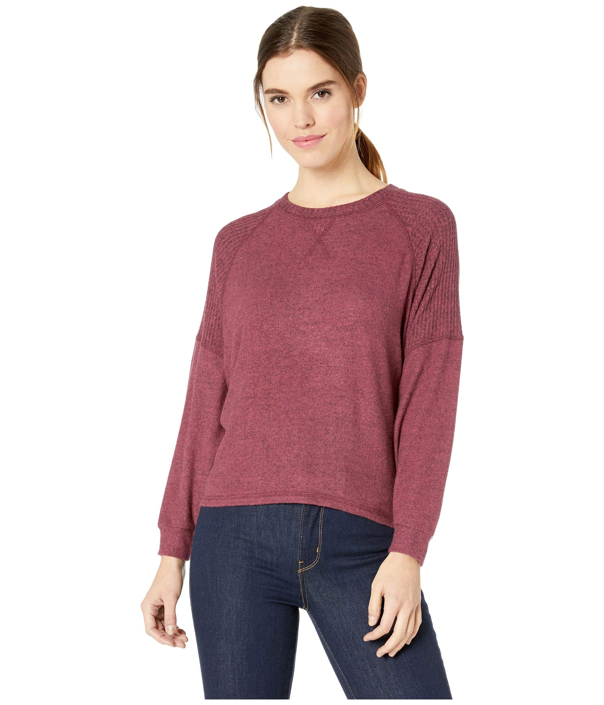 Knit Start Head Top Billabong Cranberry E4qwq