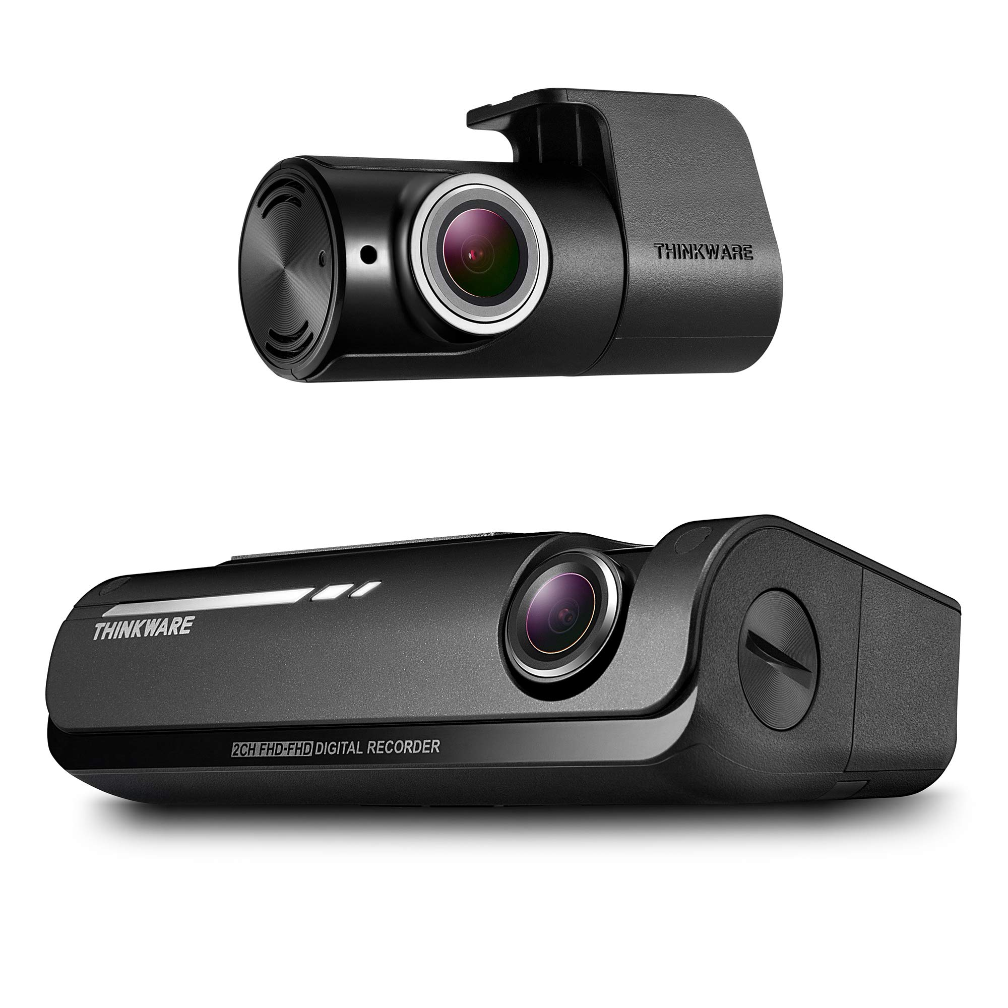 Thinkware F770 Dash Cam Full HD 1080p Front Car Camera Dashcam Super Night Vision Includes 16GB SD Card /& Cigarette Plug Car Charger Android//iOS App