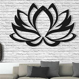 Best metal lotus flower wall art Reviews