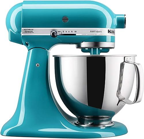 KitchenAid-KSM150PSON-Stand-Mixers,-5-quart,-Ocean-Drive