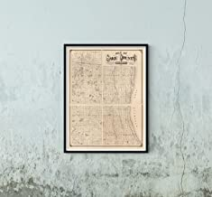 1873 Map|Title: Map of Lake County, Illinois|Subject: Illinois|Lake County|Landowners|Real Property|