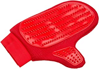 Four Paws Magic Coat Red Love Glove Dog Grooming Mitt