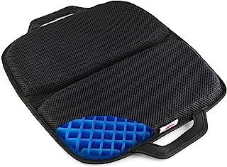 "FOMI Premium All Gel Portable Seat Cushion | (15"" x 17"") | Comfortable Orthopedic Pad for Car, Office Chair, Wheelchair, P..."